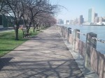 Walkway leading to FDR Park